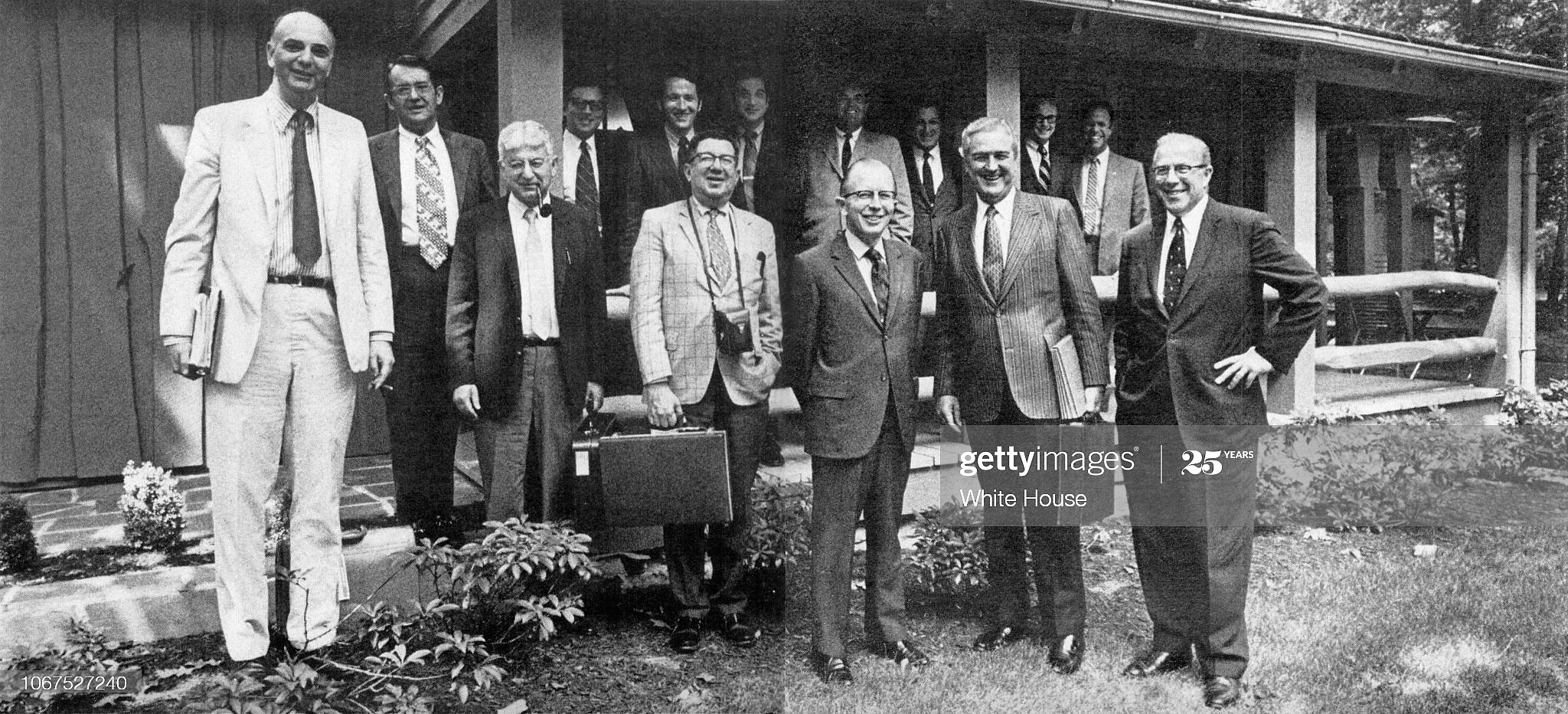 Aug. 13-15, 1971 Camp David Meeting to take America off the gold standard