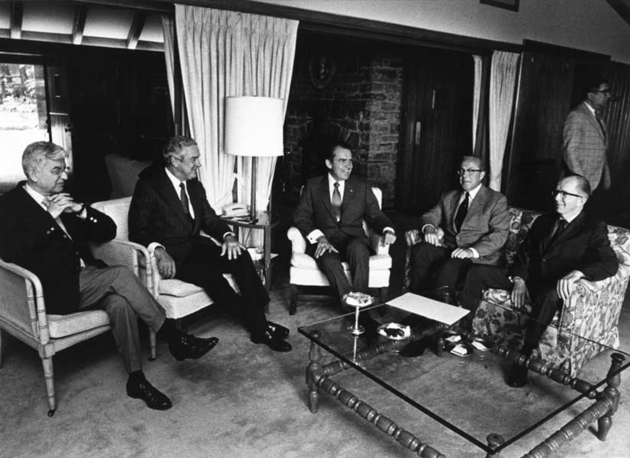 On Aug. 13-15, 1971, President Nixon and his top economic advisors met at Camp David to plot how to take America off the gold standard.