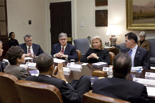 On Mar. 02, 2015, President Obama met with chief beneficiaries of the stolen Eclipse Foundation code:IBM, Xerox, Dell, Micron, Qualcomm and EMC. Given the timing of this meeting―a week after the radical 'Net Neutrality' changes to Internet regulation by the FCC—the real agenda of this group was most likely to discuss progress on their common agenda—the IBM et al 'The Internet of Things' takeover of global digital infrastructure