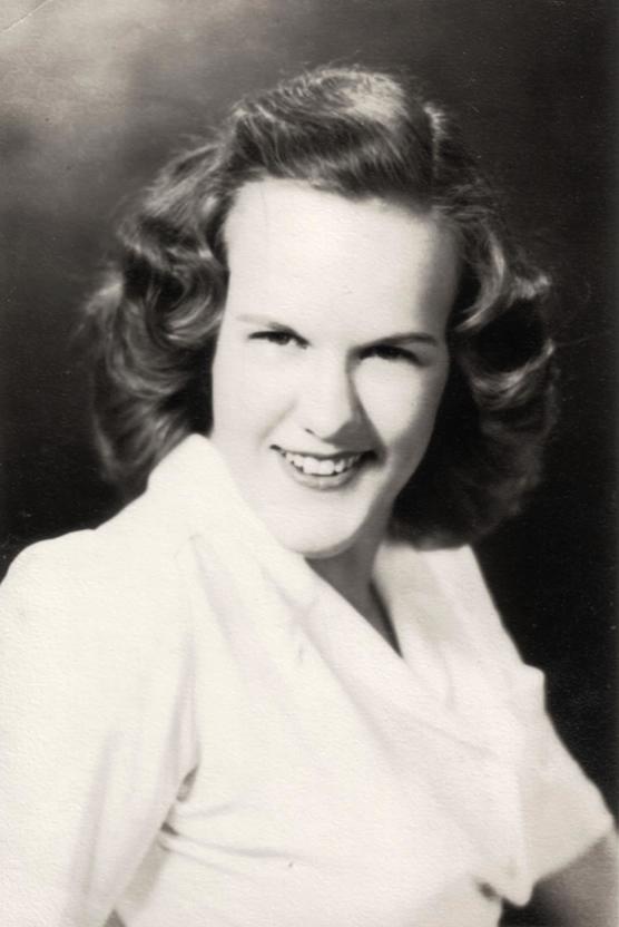 Carline C. McKibben, Sr. High School Portrait, Humbolt, Tennessee, 1943