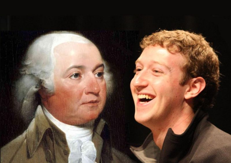 John Adams vs. Mark Zuckerberg