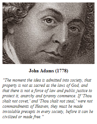 Founder John Adams on property and privacy