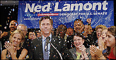 Ned and Ann Connecticut Lamont 2006 Senate Campaign