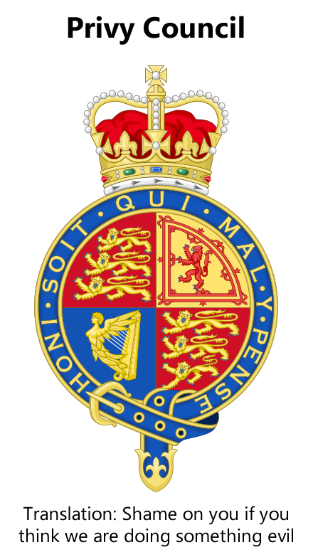 Privy Council crest