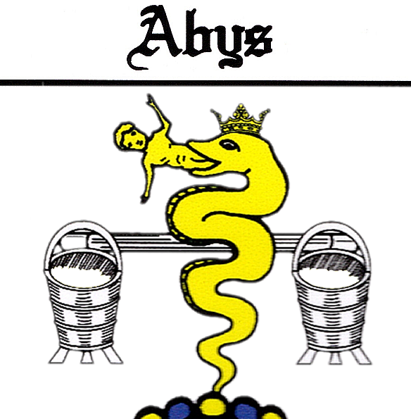 ABYS family crest (1609)