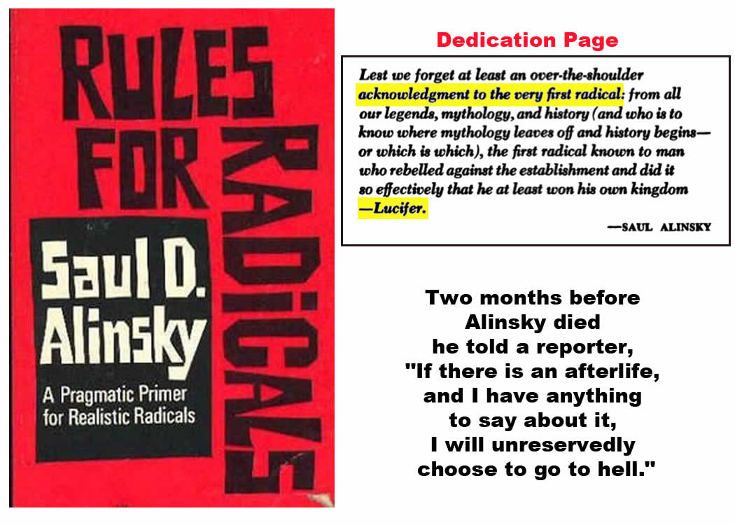 Alinsky, S. (DATE). 12 Rules for Radicals. Random House.