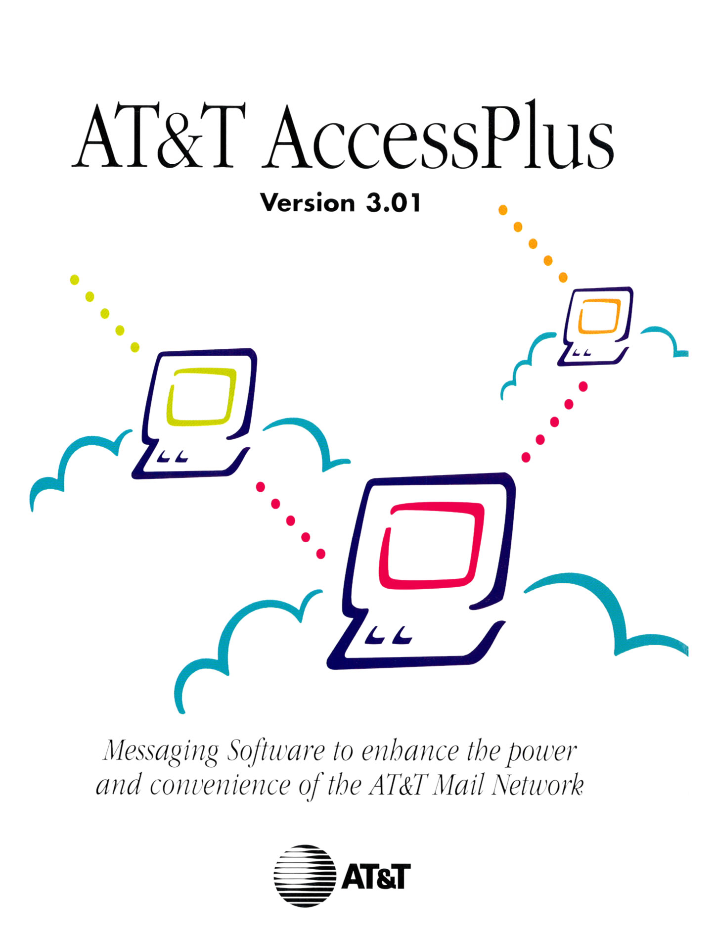 AT&T Access Plus 3.01, Email System, released by AT&T (Nov. 28, 1995). Cover: AT&T.