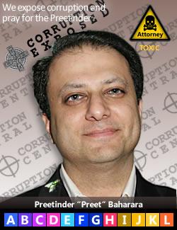 "Preetinder ""Preet"" S. Bharara; Paul Ceglia persecutor"