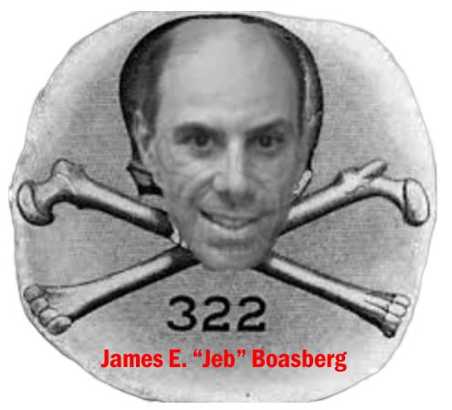 Yale Skull & Bones - James Emanuel 'Jeb' Boasberg, member