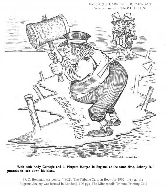 R.C. Bowman, cartoonist. (1902). The Tribune Cartoon Book for 1902, 109 pgs. The Minneapolis Tribune Printing Co.