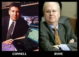 L/R: Michael Connell, Karl Rove