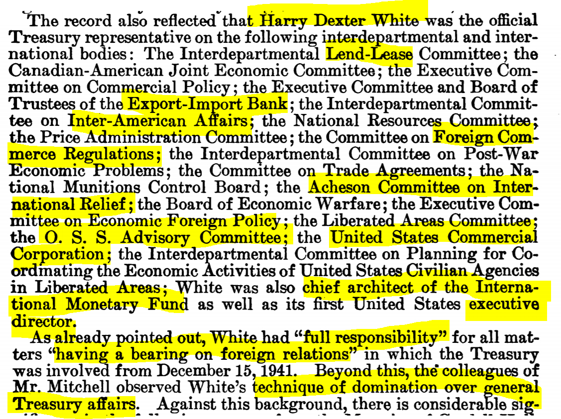 William Langer (ND), chairman. (Jan. 03, 1955). FIGURES IN A [INTERLOCKING] PATTERN [re. Institute of Pacific Relations, IPR]. Subcommittee Report, Investigation of Internal Security, Y4.J89/2:In 8/4, P41-102, Senate Judiciary Committee, 85 pgs., p. 9, 22. GPO.