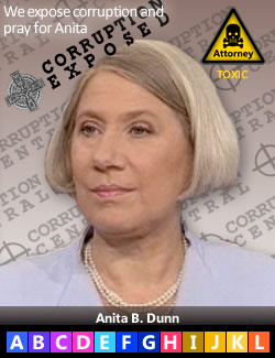 Anita B. Dunn (Bauer), Obama's personal attorney, Perkins Coie LLP, director of the IRS targeting of Tea Party groups