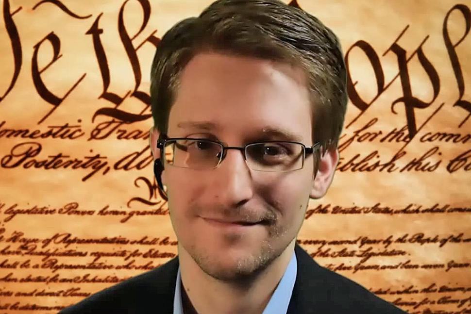 NSA Whistleblower Patriot Edward Snowden