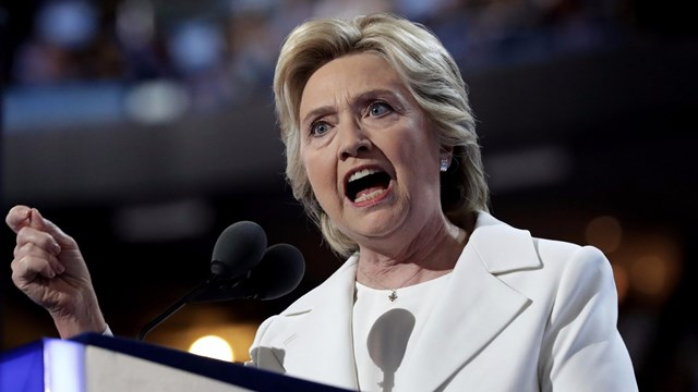 In her DNC acceptance speech, Hillary Clinton repeated a litany of lies and betrayed her duplicity in a $1 trillion crime.
