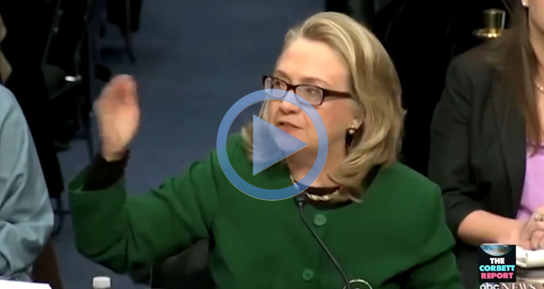 Hillary Clinton asking Congress what difference does four dead American diplomatcs in Benghazi make