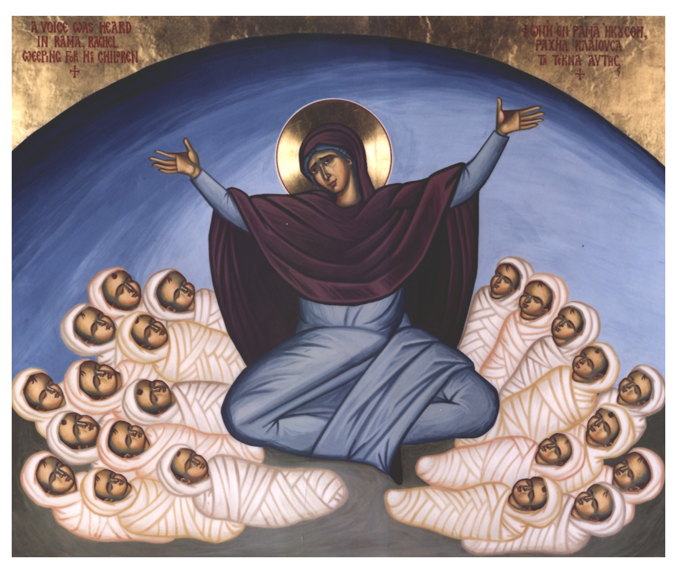 The Massacre of the Holy Innocents icon
