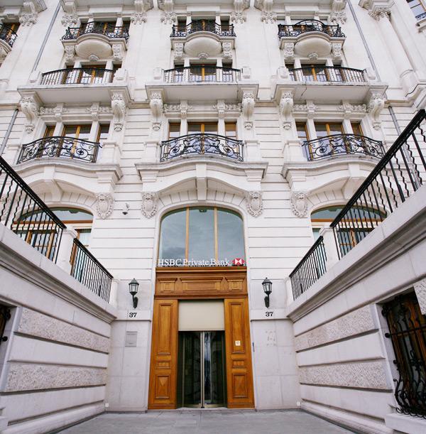 HSBC Private Bank HQ, Geneva, Switzerlan