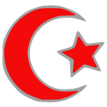 Islamic crescent (moon eclipse)