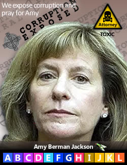 Amy Berman Jackson, judge assigned to the Robert Mueller prosecution of Roger Stone and other political targets of allies of Hillary Clinton and The Clinton Foundation. During the third week in Feb. 2019, Judge Jackson ludicrously claimed that the venerable Celtic wheel Cross in this image was a gun site, then used her perfidy to accuse Roger Stone of threatening her after he used this image in an Instragram post. Tellingly, the MSM reproductions all cropped out 'Corruption Central' from their stories, showing only the Cross. Deep State propagandists have even gone so far as to suggest that the Christian Cross was white supremacist motivated. Tell us the last time anyone in America ever even met a white supremacist outside those faked by Antifa at their false flag events. That is just juvenile. This background has been used for over four years to identify over 750 people believed to be Deep State corruptocrats, some of them deceased. Endemic Corruption is being targeted here Judge Jackson, not you. We suggest you repent and stop fabricating evidence to falsely accuse an innocent man who is trying to protect himself from the now proven Mueller Witch Hunt. Your conduct violates the Code of Conduct for U.S. Judges. We pray for you. It seems you have forgotten that you work for We The People, not your Deep State handlers.