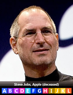 Steve Jobs, Apple (deceased)