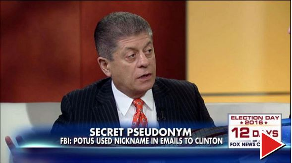 Fox & Friends. (Oct. 27, 2016). Judge Nap: Obama 'Lied Directly and Pointedly' to the Nation About Hillary's Emails. Fox News.