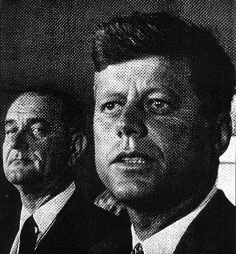 President John F. Kennedy was assassinated by Vice President Lyndon B. Johnson and the rogue C.I.A.