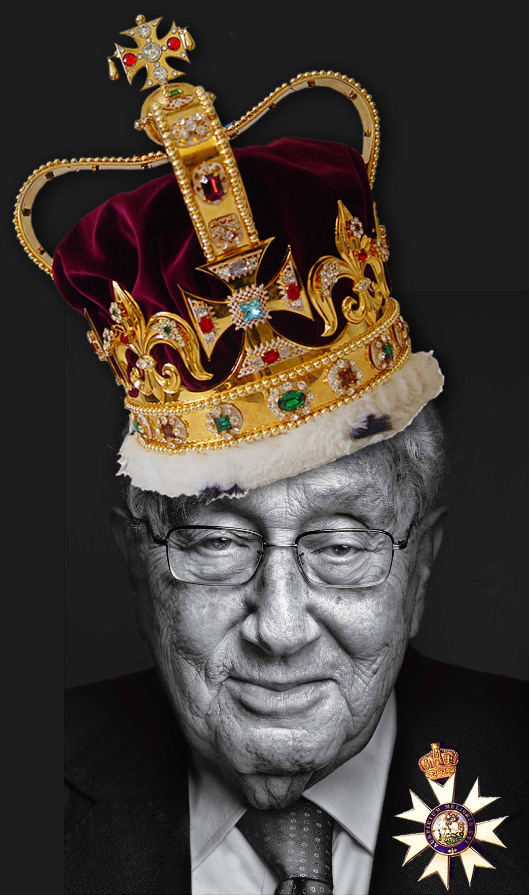 Henry A. Kissinger, KCMG. British Pilgrims Society Crown Agent .
