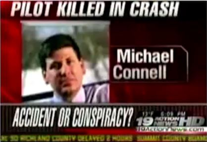 Michael Connell Dec. 19, 2008 crash report