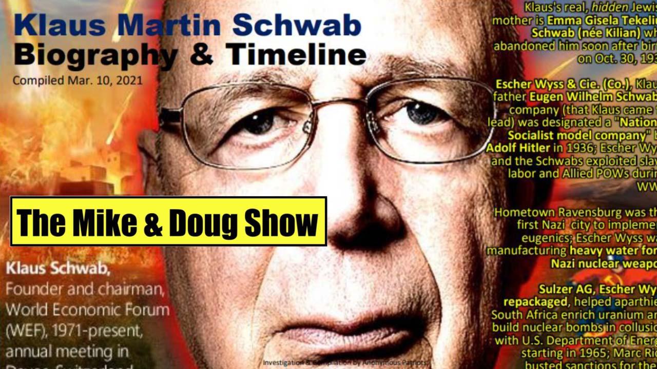 Douglas Gabriel, Michael McKibben. (Mar. 10, 2021). Klaus Schwab and the Fourth Reich. America Intelligence Media, Americans for Innovation.