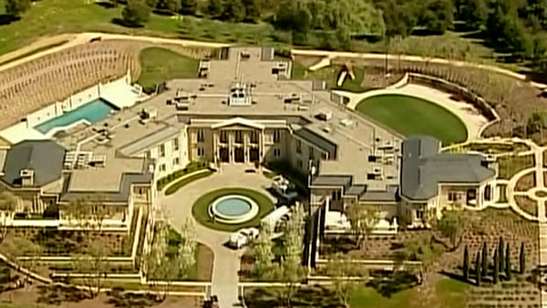 Yuri Milner's $100 million mansion in Santa Clara County, CA