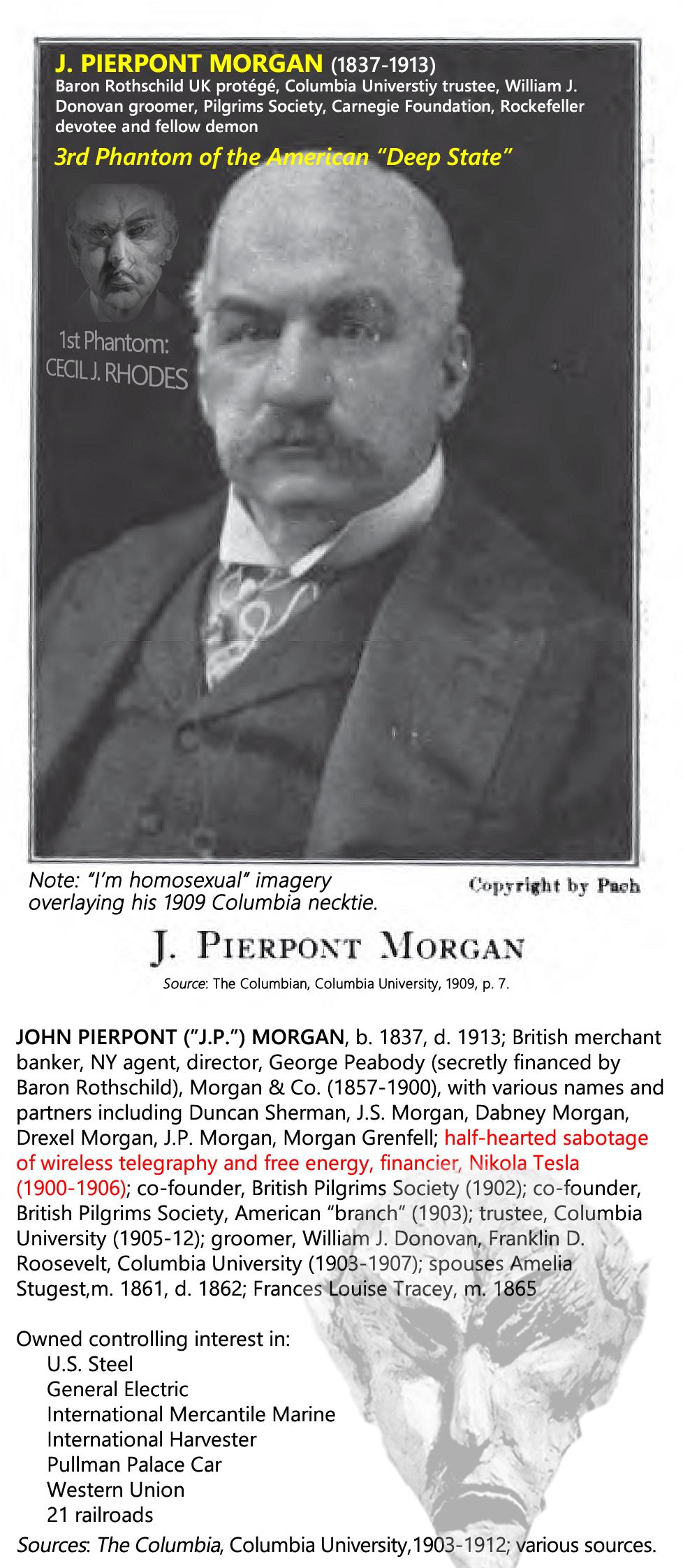 J. PIERPONT MORGAN (1837-1913).