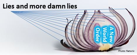 Barack Obama onion - lies and more damn lies