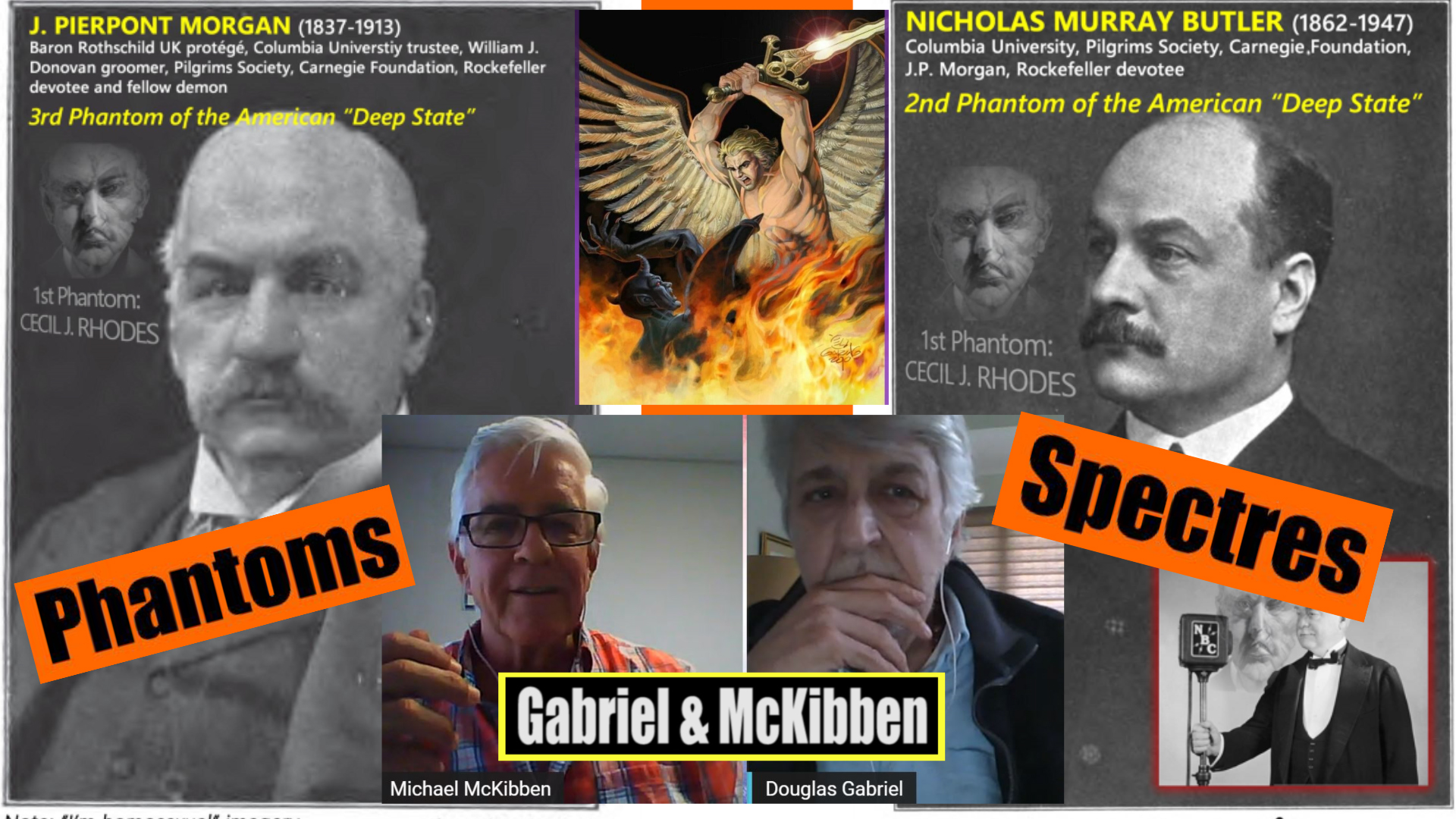 Gabriel, McKibben. (Jun. 11, 2021). Phantoms and Specters of the British Monarchy. American Intelligence Media, Americans for Innovation.