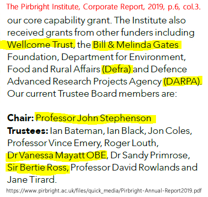 The Pirbright Institute, Corporate Report, p.6, col.3.