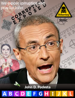 John D. Podesta, serial Clinton advisor.