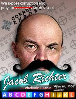 Vladimir I. Lenin, aka Jacob Richter, May 10, 1902