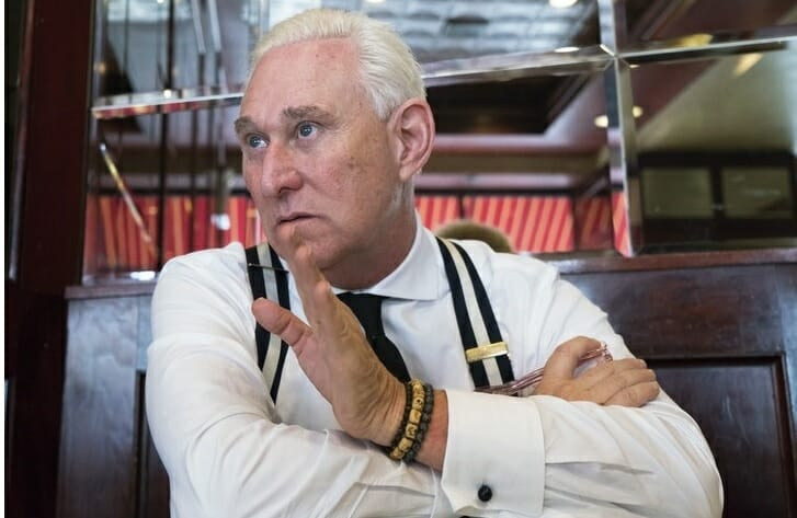 Lucian Wintrich. (May 04, 2018). Insider Exclusive: Roger Stone Blasts 'Bogus' CNBC Story, Another Distraction in Ongoing Witch Hunt. Gateway Pundit.