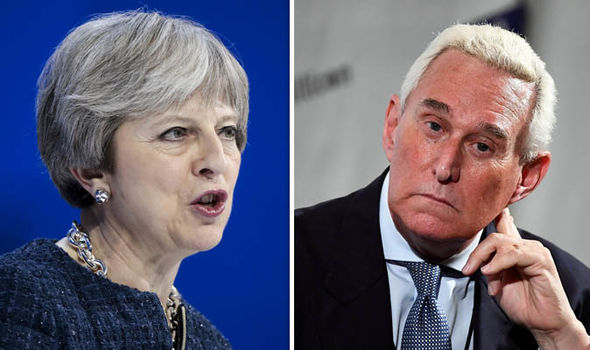 David Maddox. (Feb. 02, 2018). 'Stop delaying' US ready to strike trade deal with Britain NOW warns Trump adviser Roger Stone. Express.co.uk.