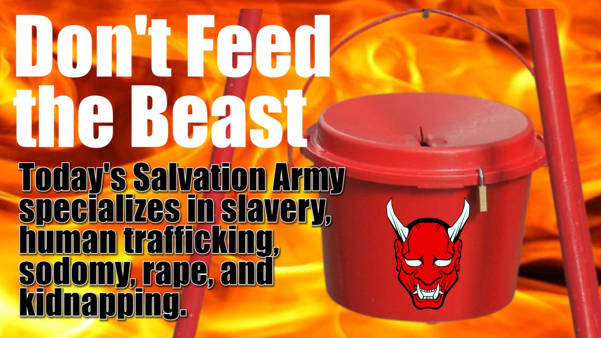 Salvation Army - Don't Feed the Beast