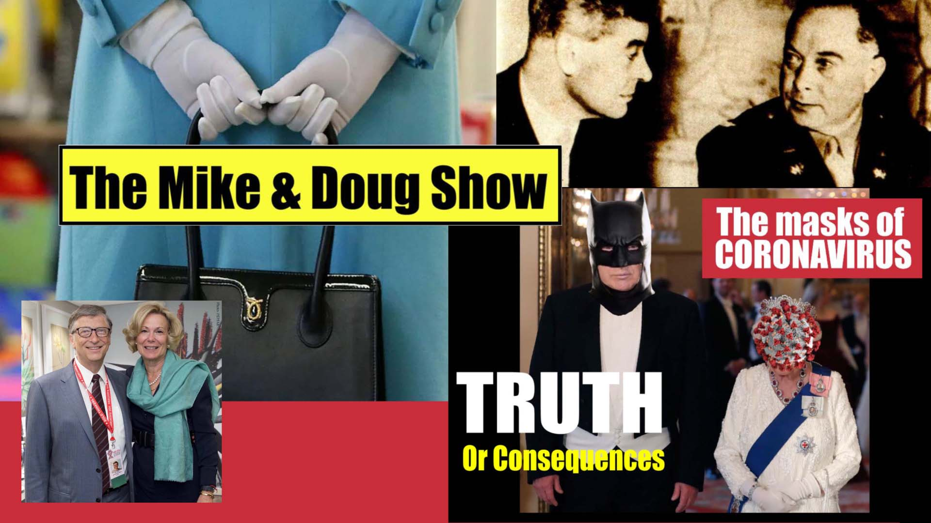 Mike and Doug review the latest findings from the miners and show you that John F. Kennedy's assassination and the current coronavirus wars are being waged by the same rogue faction of the military industrial complex, which is controlled by the Queen.