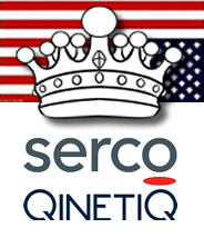 SERCO and QinetiQ are controlled by the Crown Golden Shares (Special Share)