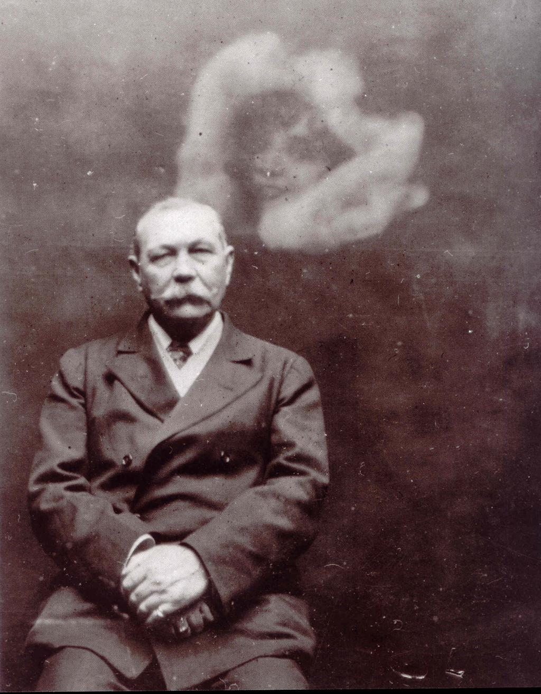 Sir Arthur Conan Doyle was a notorious spiritualist as well as propagandist.
