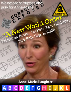 Anne-Marie Slaughter, author of A New World Order (2004).