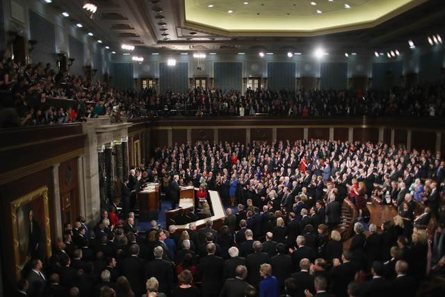 President Donald J. Trump State of the Union, Jan. 31, 2018