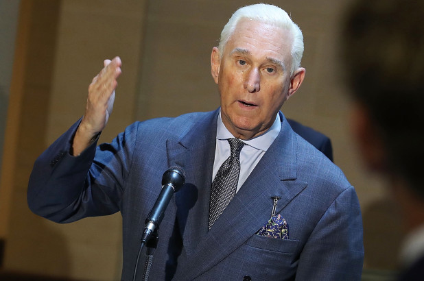Patrick Slevin. (Mar. 01, 2018). Roger Stone speaks out in exclusive Influential Interview. Influential Interview.