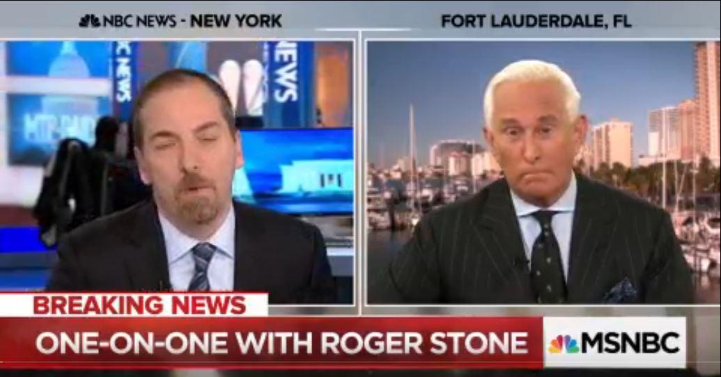 Chuck Todd. (Mar. 06, 2018). Full Roger Stone Interview: Julian Assange is a 'courageous journalist'. MSNBC.