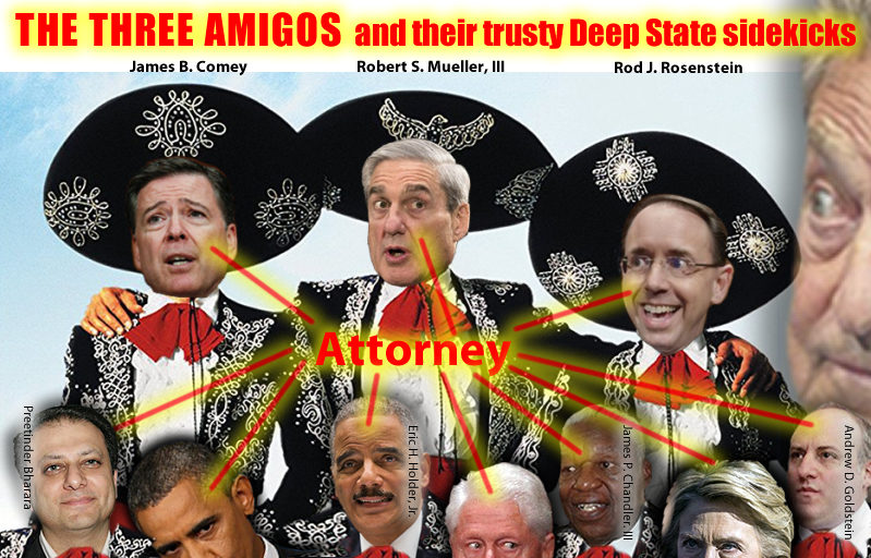 Roger Stone. (Jun. 22, 2017). Mueller, Rosenstein, and Comey: The Tree Amigos from the Deep State. StoneColdTruth.com.
