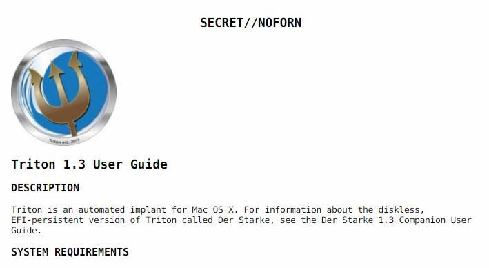 Triton v1.3. WikiLeaks.