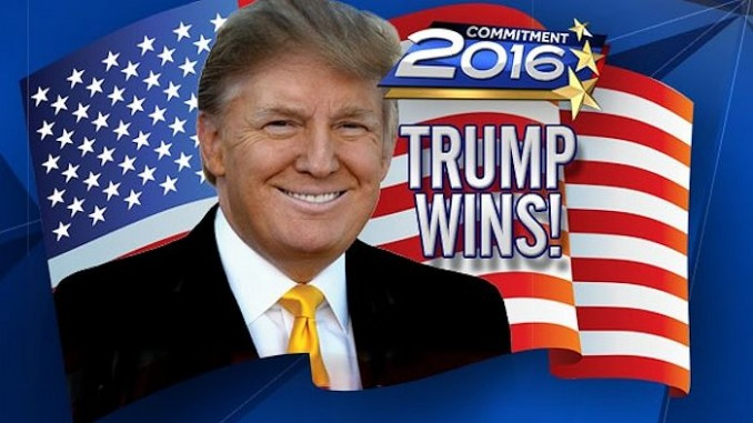 Trump Wins! Elected 45th President of the United States